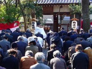 平成23年度『郷魂祠祭』2